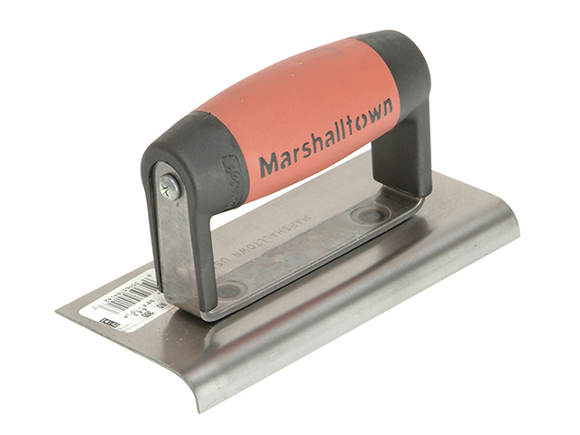 Marshalltown M36D Cement Edger Straight End DuraSoft® Handle 6 x 3in M/T36D