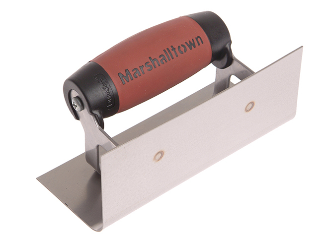 Marshalltown 66SSD Stainless Steel Internal Corner Trowel Rounded DuraSoft® Handle M/T66SSD