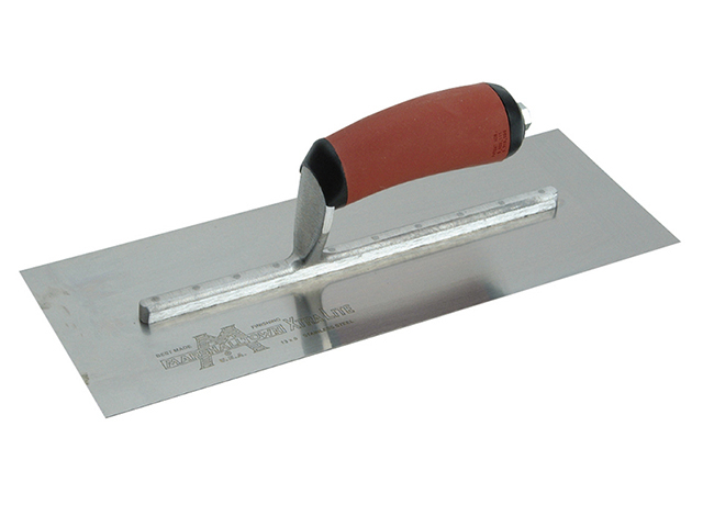 Marshalltown MXS73DSS Stainless Steel Cement Trowel DuraSoft® 14 x 4.3/4in M/TMXS73DSS