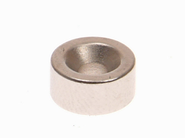 E-Magnets 301b Countersunk Magnets (2) 10mm Polarity: South MAG301B
