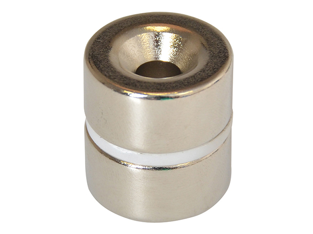 E-Magnets 315 Countersunk Magnets (2) 20mm Polarity: South MAG315