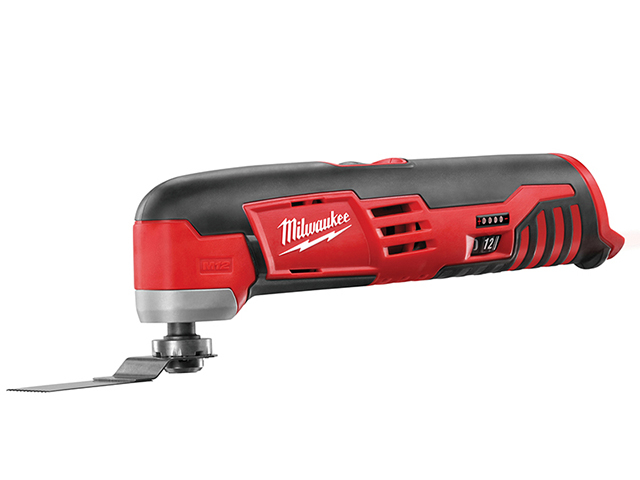 Milwaukee Power Tools C12 MT-0 Compact Cordless Multi-Tool 12V Bare Unit MILC12MT0