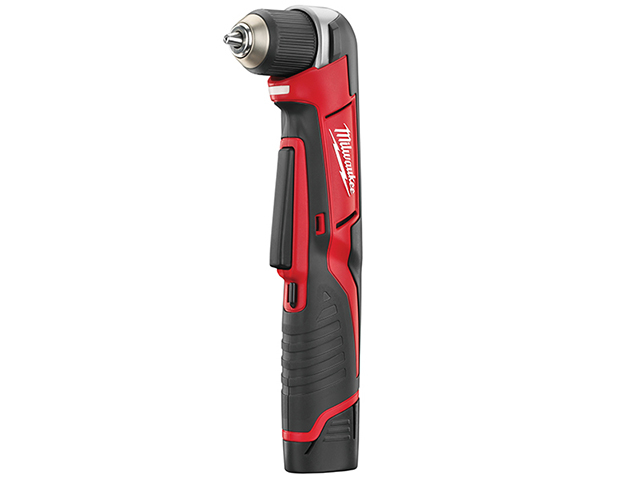 Milwaukee Power Tools C12 RAD-202C Compact Right Angle Drill 12V 2 x 2.0Ah Li-Ion MILC12RAD2