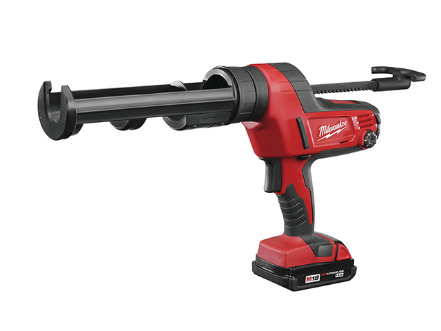 Milwaukee Power Tools C18 PCG/310C Caulking Gun 310ml 18V 1 x 2.0Ah Li-ion MILC18CG3102