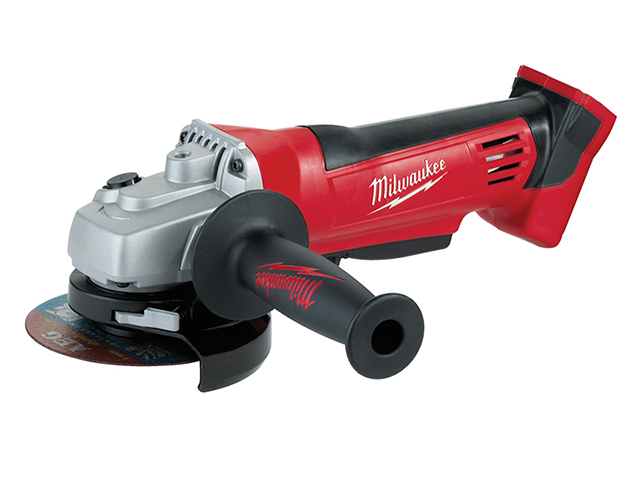 Milwaukee Power Tools HD18 AG-0 Angle Grinder 115mm 18V Bare Unit MILHD18AG0