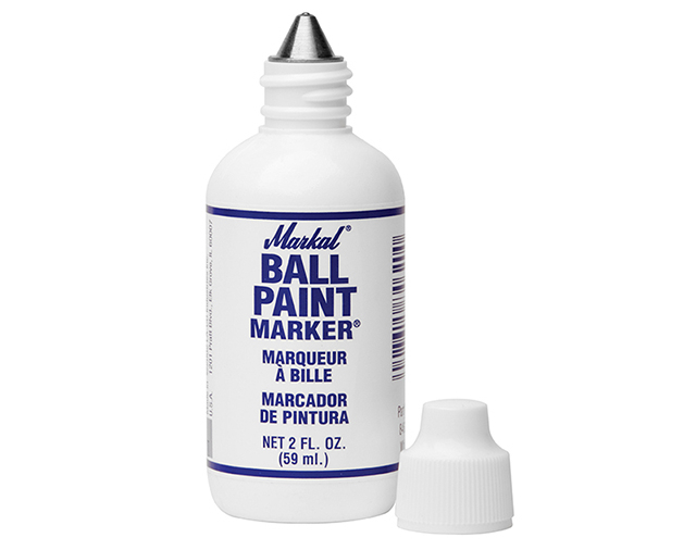 Markal Ball Paint Marker White MKL84600C