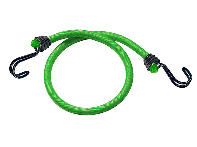 Master Lock Twin Wire Bungee Cord 80cm Green 2 Piece MLK3021E