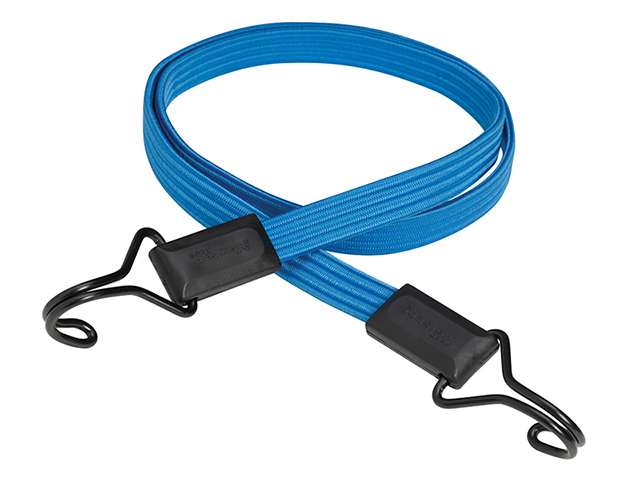 Master Lock Flat Bungee 120cm Dark Blue Double Hook MLK3227E