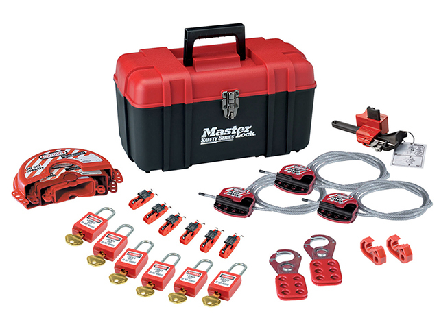 Valve & Electrical Lockout Toolbox Kit 23-Piece