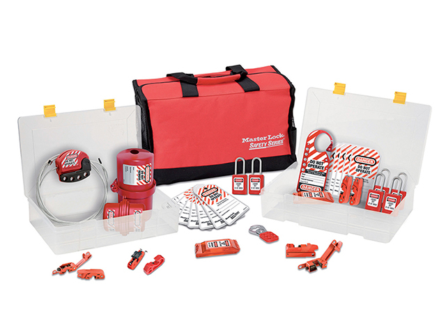 Lockout / Tagout Electrical Group 23-Piece Kit with S31 Padlocks