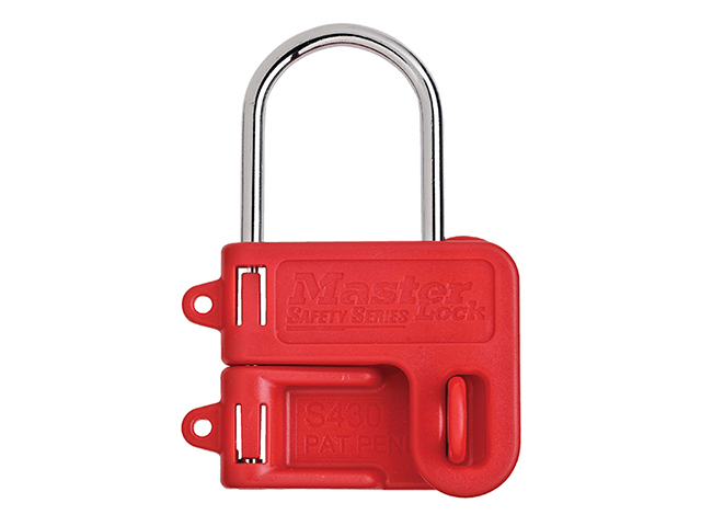 Master Lock Two Padlock Lockout Hasp - 4mm Shackle MLKS430