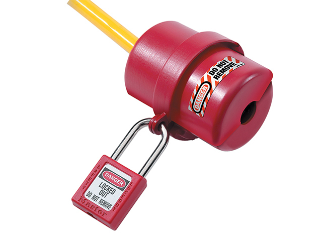 Master Lock Lockout Electrical Plug Cover Small for 120V - 240V MLKS487
