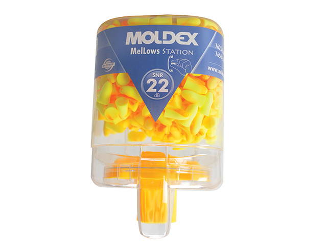 Moldex Disposable Foam Earplugs Mellows Station (250 Pairs) SNR 22 dB MOL7625