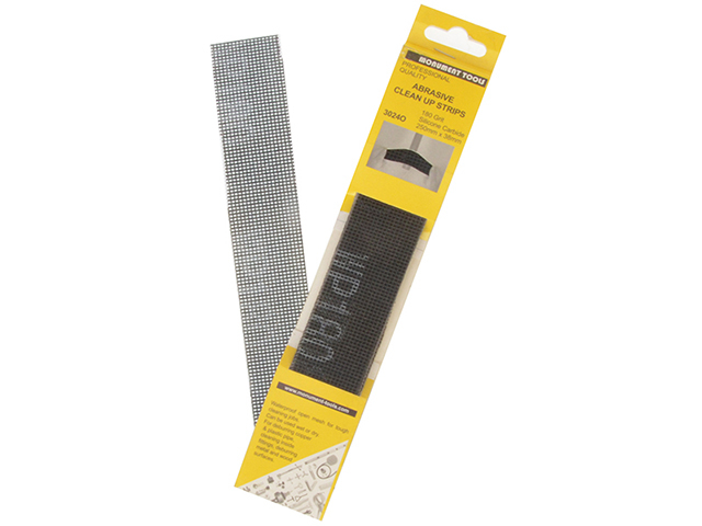 Monument 3024O Abrasive Clean Up Strips (Pack of 10) MON3024