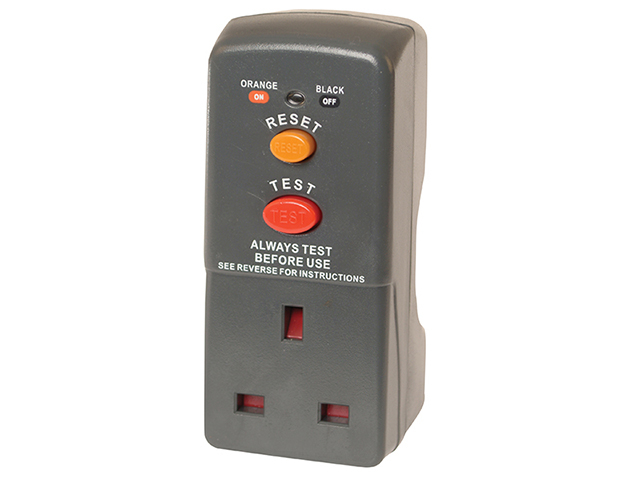 Safety RCD Adaptor