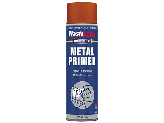 PlastiKote Metal Primer Spray Red Oxide 400ml PKT10600