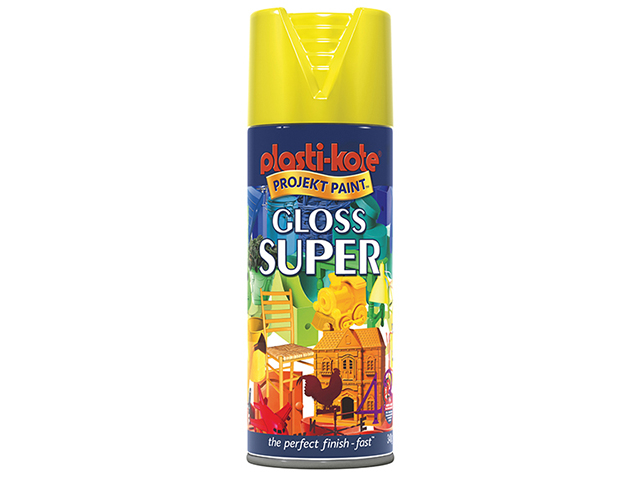Super Gloss Spray Yellow 400ml