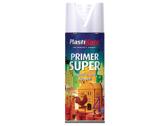 PlastiKote Super Primer Spray 400ml PKT1148