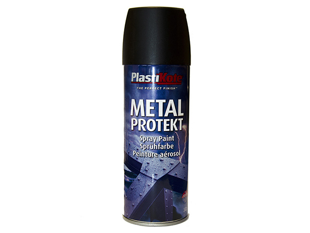 Metal Protekt Spray Matt Black 400ml