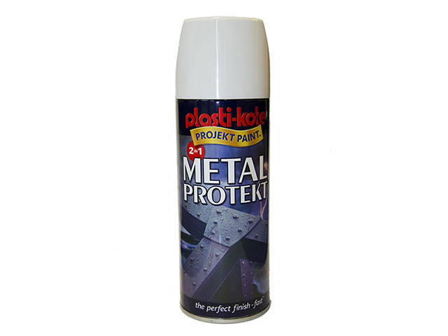 Metal Protekt Spray Gloss White 400ml