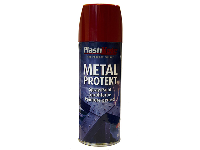 Metal Protekt Spray Bright Red 400ml RAL3001