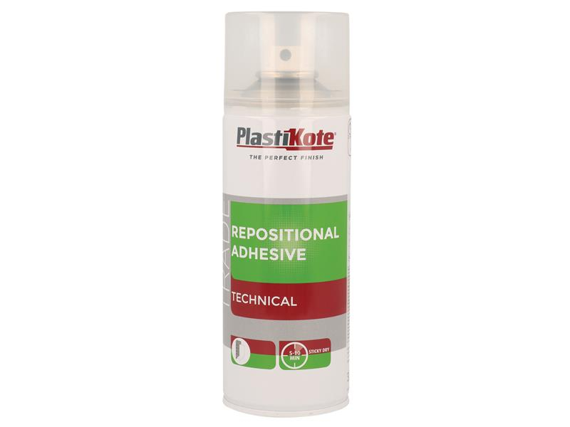PlastiKote Trade Repositional Spray Adhesive 400ml PKT71030