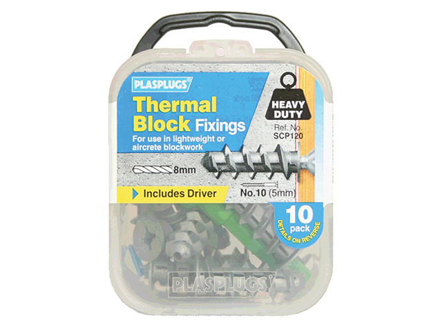PLASPLUG THERMAL BLOCK FIXINGS (10)