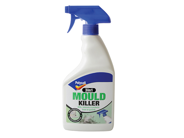 Polycell 3 in 1 Mould Killer 500ml Spray PLC3I1MKSPRY