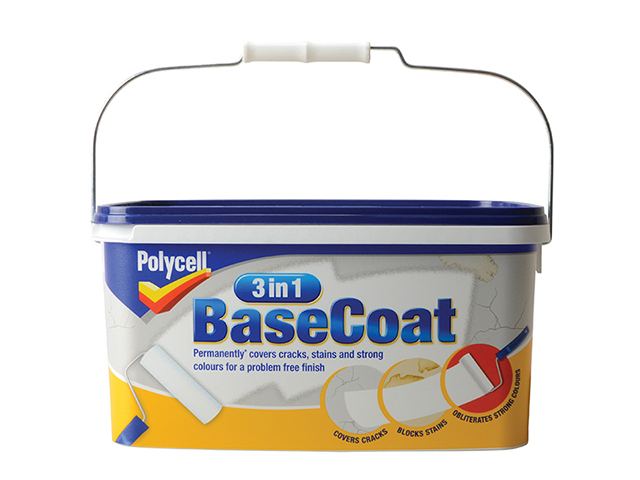 Polycell 3 in 1 BaseCoat 5 Litre PLC3IN1BC5L