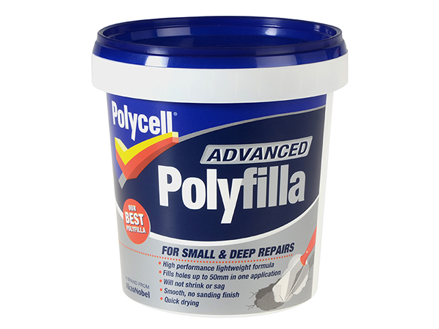 Polycell Polyfilla Advance All In One Tub 600ml PLCAPF600