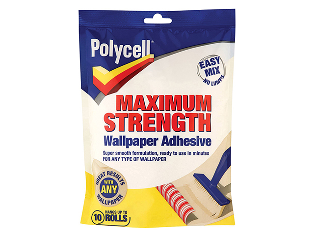Polycell Maximum Strength Wallpaper Adhesive 10 Roll PLCMSWPA10R
