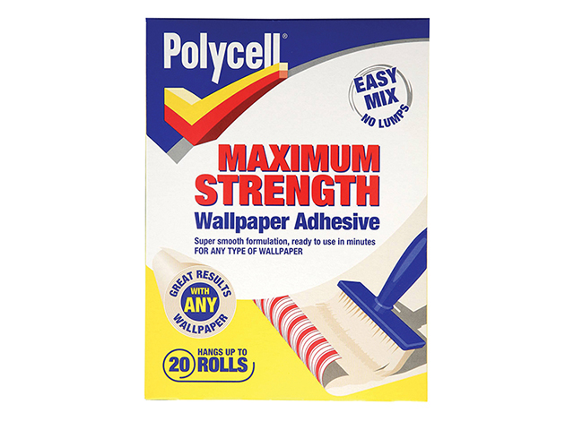 Polycell Maximum Strength Wallpaper Adhesive 20 Roll PLCMSWPA20R