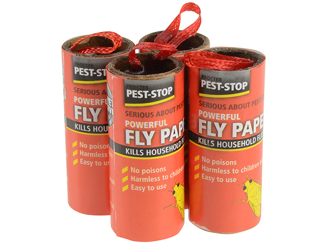 Pest-Stop Systems Fly Papers Pack of 4 PRCPSFP