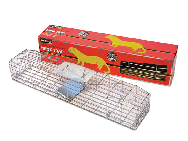 Pest-Stop Systems Mink Cage Trap 30in PRCPSMCAGE