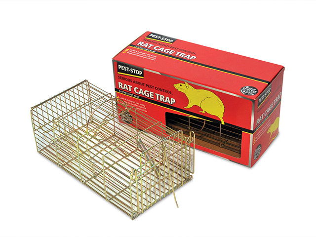 Pest-Stop Systems Rat Cage Trap 14in PRCPSRCAGE