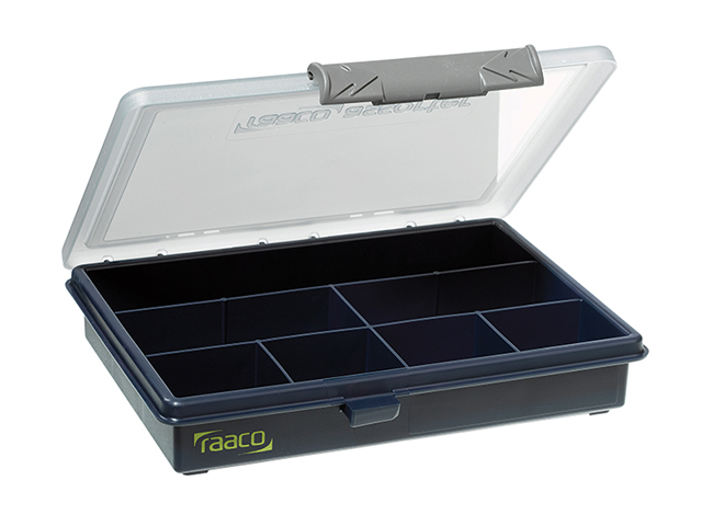 Raaco A6 Profi Service Case Assorter 7 Fixed Compartments RAA136136