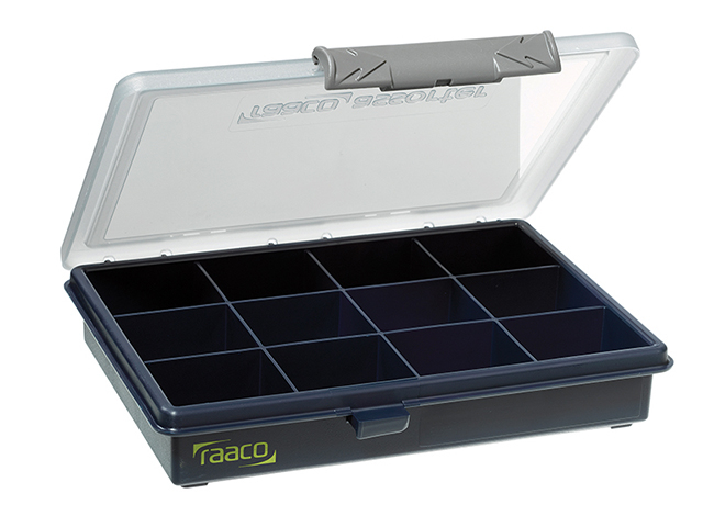 Raaco A6 Profi Service Case Assorter 12 Fixed Compartments RAA136143