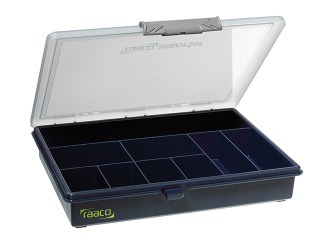 Raaco A5 Profi Service Case Assorter 9 Fixed Compartments RAA136150