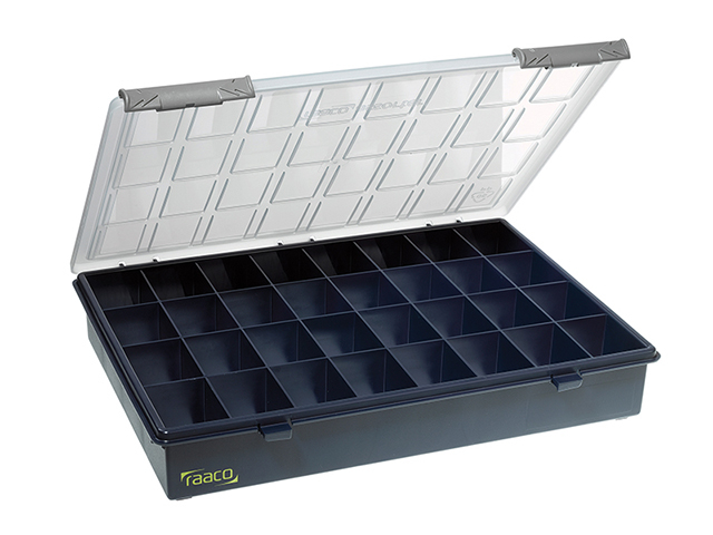 Raaco A4 Profi Service Case Assorter 32 Fixed Compartments RAA136181