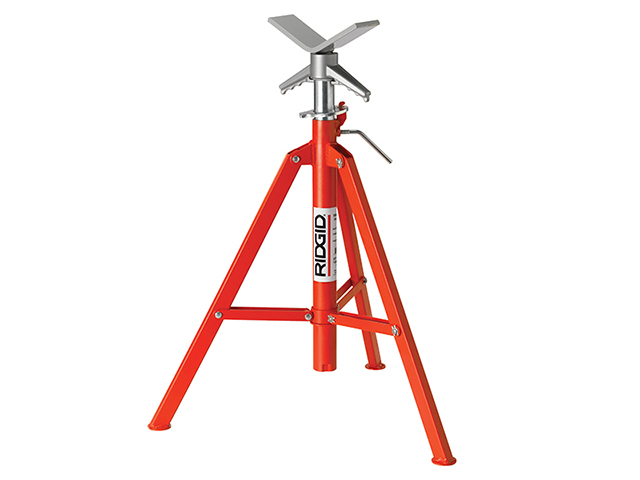 RIDGID VF-99 V-Head Folding Pipe Stand 22168 RID22168