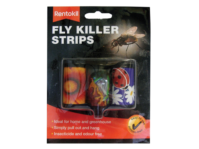 Fly Killer Strips Pack of 3