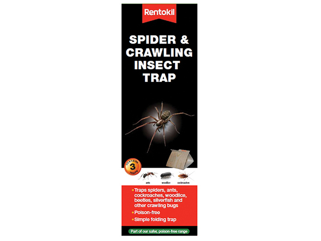 Rentokil Spider & Crawling Insect Trap RKLFS58