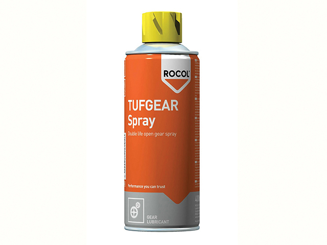 ROCOL TUFGEAR Open Gear Lubricant Spray 400ml ROC18105