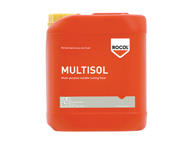 ROCOL MULTISOL Water Mix Cutting Fluid 5 Litre ROC35226
