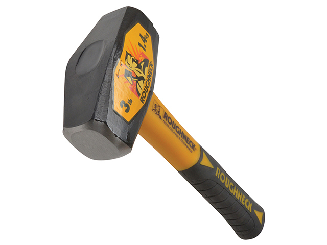 Roughneck Club Hammer Fibreglass Handle 1.4kg (3lb) ROU65608