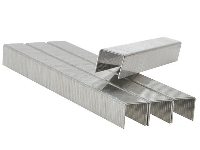140/10 10mm Galvanised Staples Box 2000