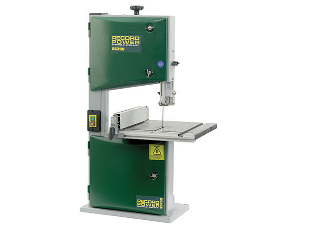 Record Power BS250 Benchtop Bandsaw 370W 240V RPTBS250