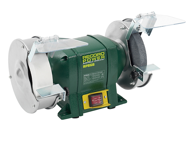 Record Power RSBG6 150mm (6in) Bench Grinder 350W 240V RPTRPBG6