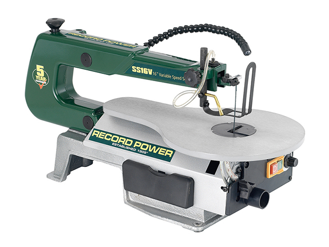 Record Power SS16V Scroll Saw 400mm 75W 240V RPTSS16V