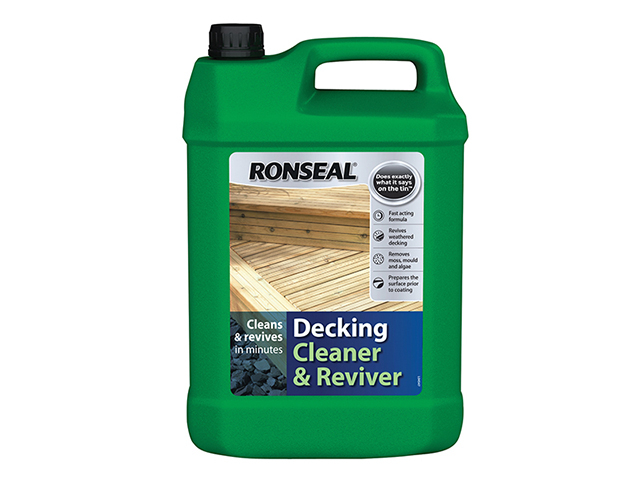 Ronseal Decking Cleaner & Reviver 5 Litre RSLDC